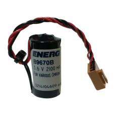 Omron 3G2A9-BAT08, C500-BAT08 3.6V Lithium PLC Battery Replacement