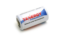 Tenergy 10208 C Cell Ni-MH Rechargeable Battery - 1.2V 5000mAh