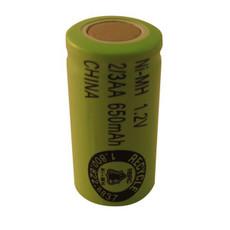 2/3 AA NiMH Battery - 1.2V 650mAh - H2/3AA