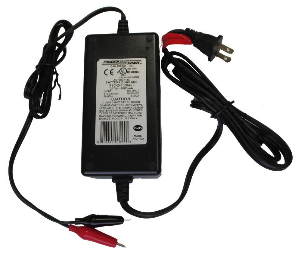 Psc 241000a C Power Sonic Battery Charger 24 Volt 1000ma Sla