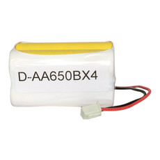 Lithonia / Daybright D-AA650BX4 Battery (2x2 SQUARE)