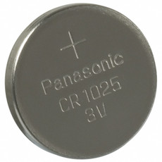 Panasonic CR1025 Battery - 3 Volt 30mAh Lithium Coin Cell