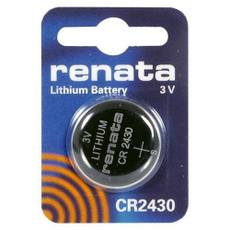 Renata CR2430 3 Volt 285mAh Lithium Coin Cell Battery