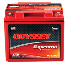 Odyssey PC1200MJ Battery - 12V 44.0AH Marine, RV, Trolling Motor