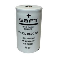 Saft VH DL 9500 XP - 417994-106 Ni-MH D Cell Battery 1.2V 9500mAh