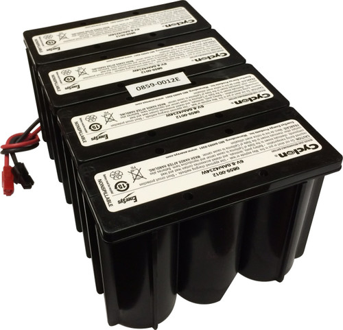 Enersys Cyclon 0859-0012S / 4X0859-0012E 24 Volt 8Ah Battery