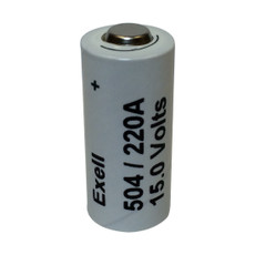 Exell 504A Electronic 15V Battery - Replaces Eveready 504 - Neda 220