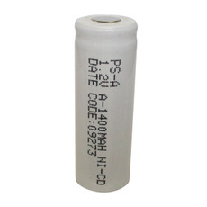 Power-Sonic A Cell NiCd Battery - 1.2 Volt 1400mAh PS-A