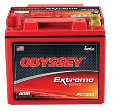 Odyssey PC1200LMJT Battery - Rev. Pol. w/SAE Term. & Metal Jacket
