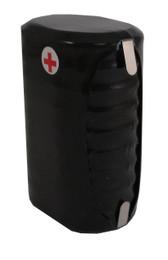 Varta 10/V450HR Ni-MH Battery - 12 Volt 450mAh Stack with Tabs