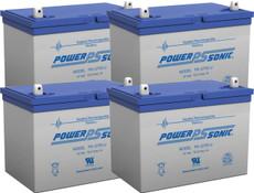 APC RBC14  Replacement Batteries ( 4 ) 12v 75Ah Batteries