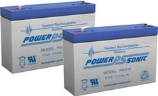 APC RBC18 - Cartridge #18 UPS Backup Battery  - Includes 2 pcs 6v 7ah