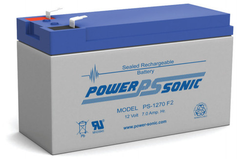 APC RBC40  Replacement  Battery  ( 1 )  12v 7Ah  F2 Battery