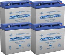APC RBC55  Replacement Batteries ( 4 ) 12v 18Ah Batteries