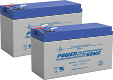 APC RBC123  Replacement Batteries  ( 2 ) 12v 7ah F2 Batteries