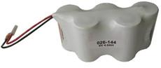 Sure-Lites 026-144 Ni-Cd Battery - 6 Volt 4000mAh