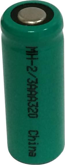 2/3 AAA Cell Ni-MH Battery  - 1.2 Volt 320mAh