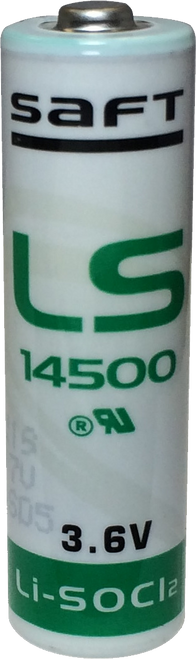 TACLANE-Micro KG-175D 3.6V Lithium AA Battery - Saft LS14500