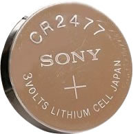 Social Retail Waterproof iBeacon Battery - 3 Volt CR2477