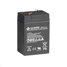 B.B. Battery BP4.5-6 - 6V 4.5Ah AGM - VRLA Rechargeable Battery