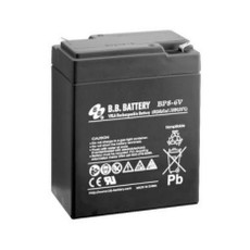 B.B. Battery BP8-6V - 6V 8Ah AGM - VRLA Rechargeable Battery