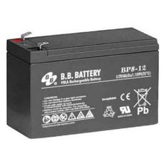"B.B. Battery BP8-12 (.187"") - 12V 8Ah AGM - VRLA Rechargeable Battery"