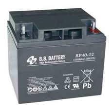 B.B. Battery BP40-12 (Nut & Bolt) - 12V 40Ah AGM - VRLA Rechargeable