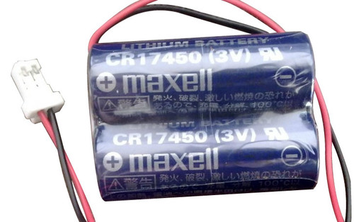 Maxell 2CR17450 (3V) Battery - CR17450 with RD0296-1