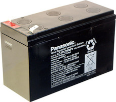 LC-R127R2P1 Panasonic Battery - 12V 7.2Ah Sealed Lead Rechargeable