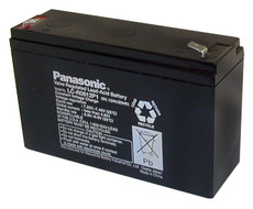 LC-R0612P1 Panasonic Battery - 6V 12Ah Sealed Lead Rechargeable