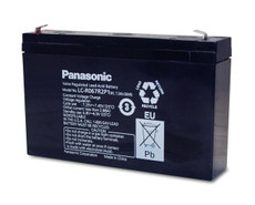LC-R067R2P1 Panasonic Battery - 6V 7.2Ah Sealed Lead Rechargeable