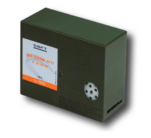 Saft BA-5598/U Battery - 15V - 3V Lithium Battery