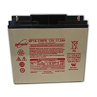 Enersys - Genesis NP18-12BFR Battery (Flame Retardant)