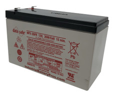 "Data Safe NPX-35FR Battery by Enersys (.187"" Tabs-Flame Retardant)"