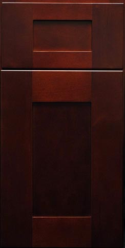 Mocha Shaker Sample Door