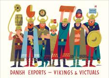 Danish Export Vikings A3 Poster