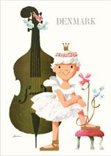 The Ballerina Denmark A3 Poster
