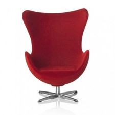AJ Egg chair, red 1:16 minimii