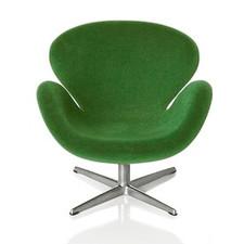 AJ Swan chair, green 1:16 minimii