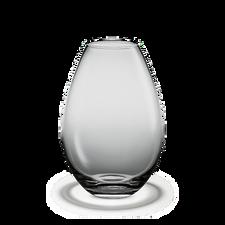 Holmegaard Cocoon Vase, smoke, H 26 cm