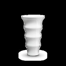 Holmegaard Karen Blixen Vase, white, H 31 cm