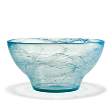 Holmegaard Nordlys Bowl, lagoon, 24 cm