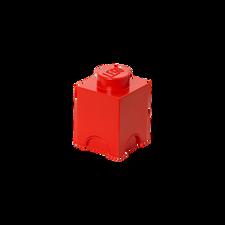 LEGO Storage Brick 1 RED