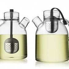 MENU - Kettle Teapot, glass w. Tea Egg