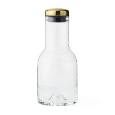 MENU - Water Bottle w/Brass Lid, 17 oz