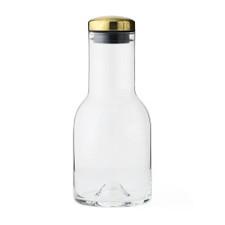 MENU - Water Bottle w/Brass Lid, 17 oz