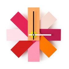Normann Cph /  Watch Me Wall Clock Pink