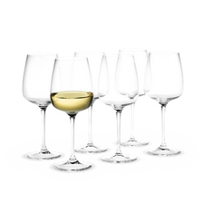 Holmegaard Bouquet Wine glass, 6 pcs., 32 cl