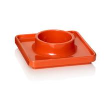 Pantone Egg cups - Tangerine Tango