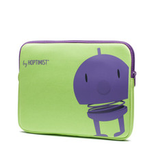 Hoptimist - Ipad Sleeve, Lime/Purple